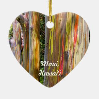 Ornamento De Cerâmica Árvores pintadas e floresta de bambu, Maui