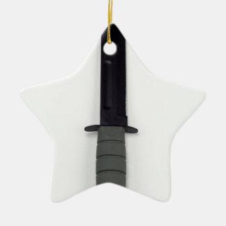 Ornamento De Cerâmica as forças armadas combatem um estilo vertical de