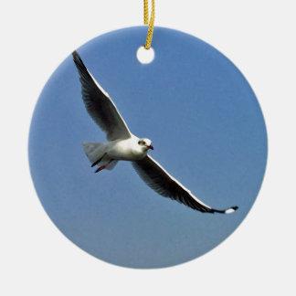 Ornamento De Cerâmica As gaivotas são pássaros bonitos