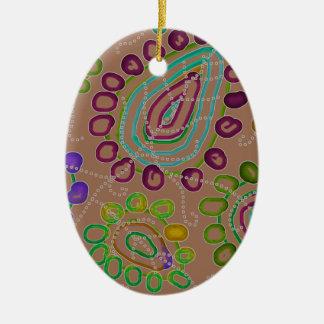 Ornamento De Cerâmica As gotas Morphed 2
