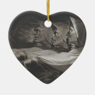Ornamento De Cerâmica As irmãs estranhas (Shakespeare, Macbeth)