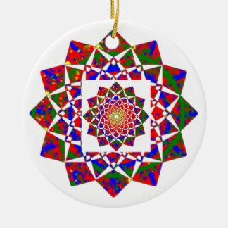Ornamento De Cerâmica As máscaras vazias lisas DIY do vermelho adicionam