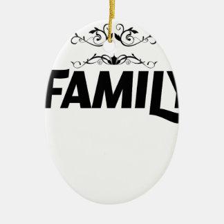 Ornamento De Cerâmica as melhores coisas na vida são família