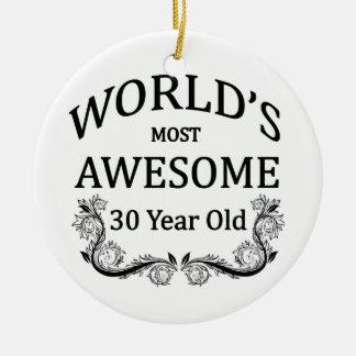 Ornamento De Cerâmica As pessoas de 30 anos as mais impressionantes do