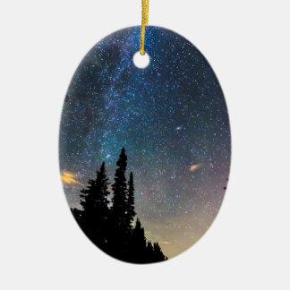 Ornamento De Cerâmica Ascensão da galáxia