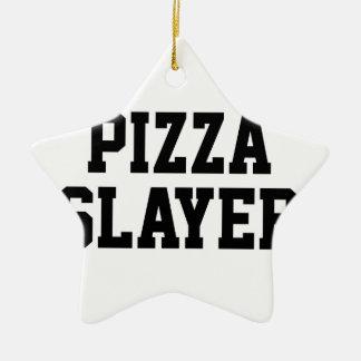 Ornamento De Cerâmica Assassino da pizza