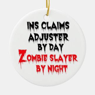 Ornamento De Cerâmica Assassino do zombi do ajustador de créditos de