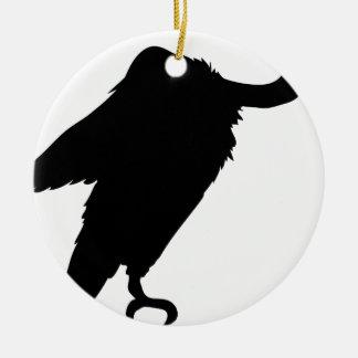 Ornamento De Cerâmica Assento do abutre