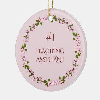 Ornamento De Cerâmica Assistente de ensino #1