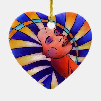 Ornamento De Cerâmica Astronella - estrela da beleza