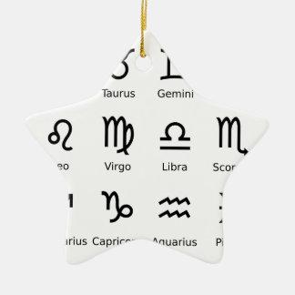 Ornamento De Cerâmica astros