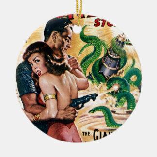 Ornamento De Cerâmica Ataques de Kraken