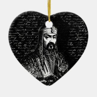 Ornamento De Cerâmica Attila o huno