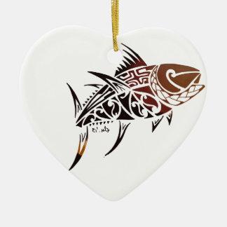 Ornamento De Cerâmica Atum