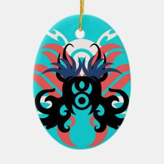 Ornamento De Cerâmica Aura da abstracção três