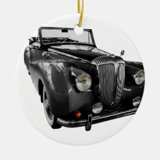 Ornamento De Cerâmica Auto carro do clássico do Oldtimer