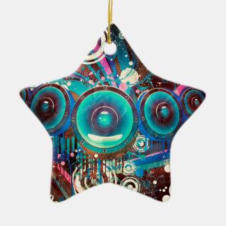 Ornamento De Cerâmica Auto-falante altos 2 do Grunge
