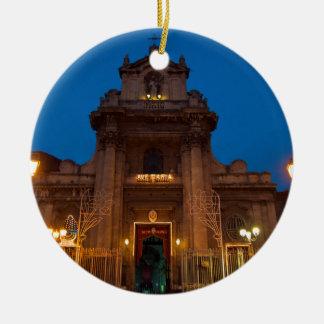 Ornamento De Cerâmica Ave Maria Church em Catania