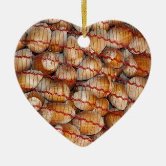 Ornamento De Cerâmica Avelã