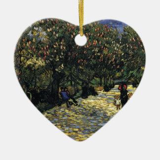 Ornamento De Cerâmica Avenida com as árvores de castanha em Arles - Van