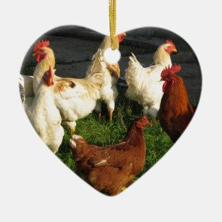 Ornamento De Cerâmica Aves domésticas