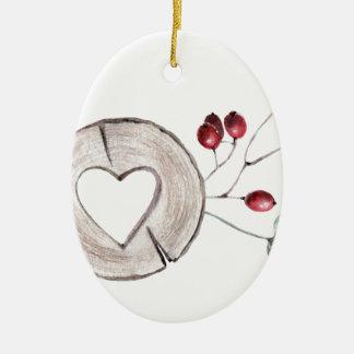 Ornamento De Cerâmica Azevinho agradavelmente