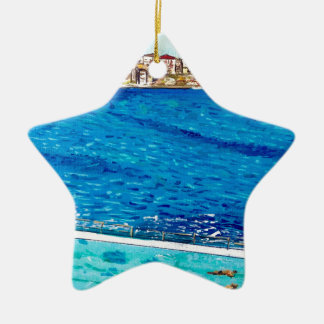 Ornamento De Cerâmica Azuis de Bondi