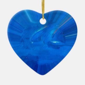 Ornamento De Cerâmica azul