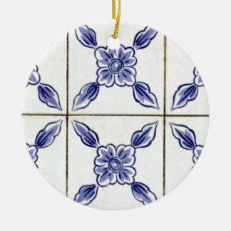 Ornamento De Cerâmica azulejo
