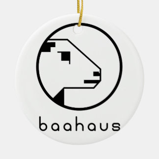 Ornamento De Cerâmica Baahaus