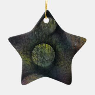 Ornamento De Cerâmica Bactérias enredadas