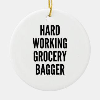 Ornamento De Cerâmica Bagger de trabalho duro do mantimento