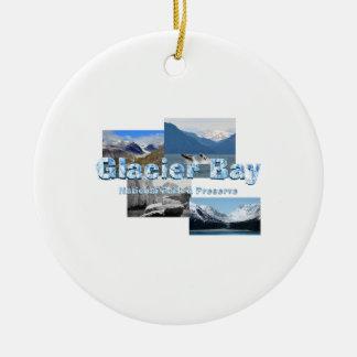 Ornamento De Cerâmica Baía de geleira de ABH