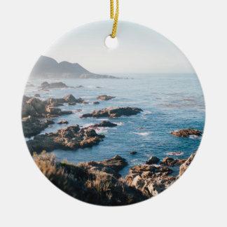 Ornamento De Cerâmica Baía de Monterey