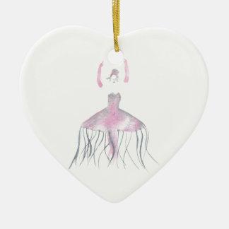 Ornamento De Cerâmica Bailarina das medusa - Annette