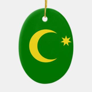 Ornamento De Cerâmica Baixo custo! Bandeira da ilha de Cocos