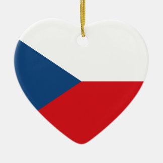 Ornamento De Cerâmica Baixo custo! Bandeira da república checa