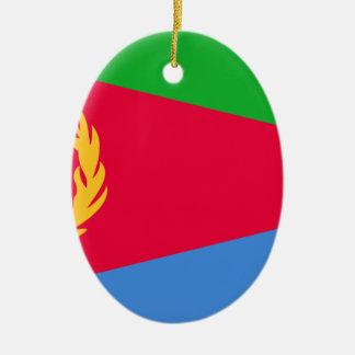 Ornamento De Cerâmica Baixo custo! Bandeira de Eritrea