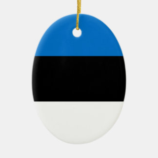 Ornamento De Cerâmica Baixo custo! Bandeira de Estónia