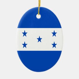 Ornamento De Cerâmica Baixo custo! Bandeira de Honduras