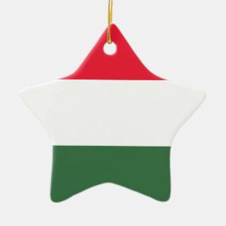 Ornamento De Cerâmica Baixo custo! Bandeira de Hungria