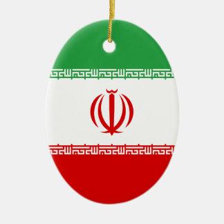 Ornamento De Cerâmica Baixo custo! Bandeira de Irã