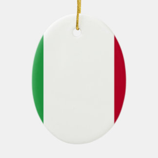 Ornamento De Cerâmica Baixo custo! Bandeira de Italia