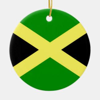 Ornamento De Cerâmica Baixo custo! Bandeira de Jamaica