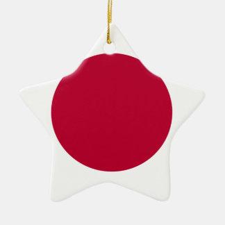 Ornamento De Cerâmica Baixo custo! Bandeira de Japão