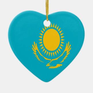Ornamento De Cerâmica Baixo custo! Bandeira de Kazakhstan
