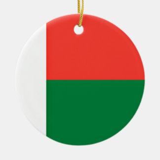 Ornamento De Cerâmica Baixo custo! Bandeira de Madagascar