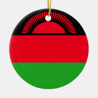 Ornamento De Cerâmica Baixo custo! Bandeira de Malawi