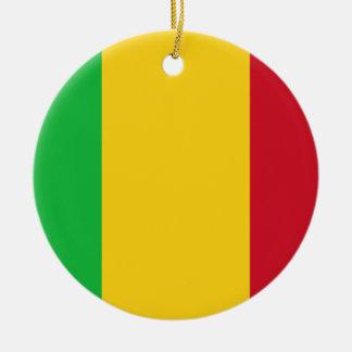 Ornamento De Cerâmica Baixo custo! Bandeira de Mali