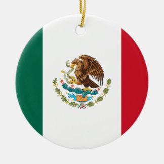 Ornamento De Cerâmica Baixo custo! Bandeira de México